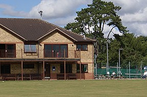 Chippenham Sprts Club from the Cricket pitch